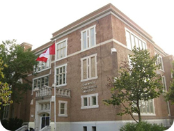 Oakwood Collegiate Institute's Pick Up Location